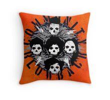 Misfits Community Blow Back Throw Pillow