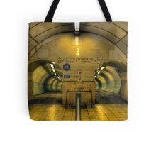 Cyclists I Pedestrians Tote Bag