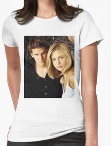 buffyxangel Womens Fitted T-Shirt