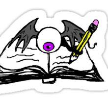 Fleye By Book Sticker