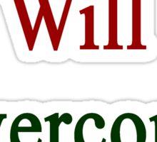 This Italian Will Overcome Cancer Sticker