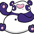 Creepies - Panda (Sticker) by Creepy Creations
