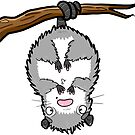 Creepies - Possum (sticker) by Creepy Creations