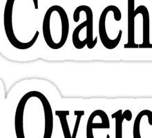 This Hockey Coach Will Overcome Cancer Sticker