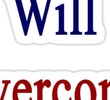This Russian Will Overcome Cancer  Sticker