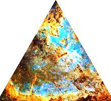 Heart and Soul Nebula Triangle   Fresh Universe by SirDouglasFresh
