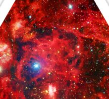 Lobster Nebula Triangle | Fresh Universe Sticker