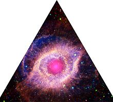 Helix Nebula Triangle   Fresh Universe by SirDouglasFresh