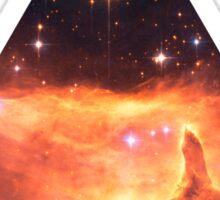 Emission Nebula Triangle | Fresh Universe Sticker