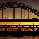 Tyne Bridge at Sunset by Great North Views