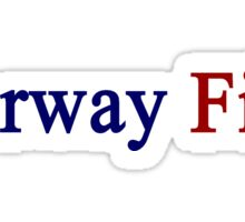 Norway First Sticker