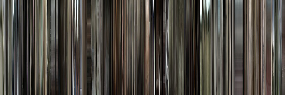 Moviebarcode: Cave of Forgotten Dreams (2010) by moviebarcode