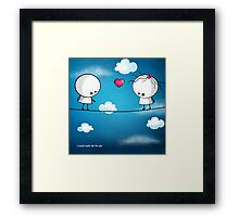 I could really fall for you Framed Print