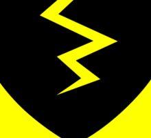 Heart Breaker Yield Sign Sticker