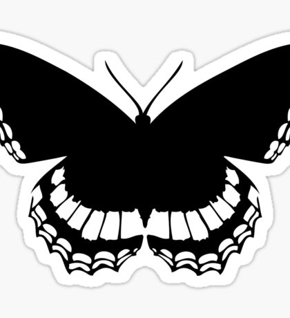 Butterfly Silhouette Sticker