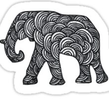 Elephant Troop Sticker