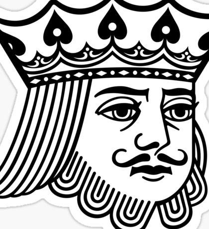 KoS —King's Face Sticker Sticker