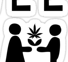 MORE WEED PLEASE Sticker
