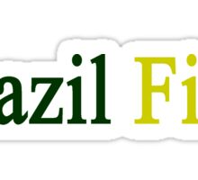 Brazil First  Sticker