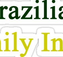 Brazilian Family Inside Sticker