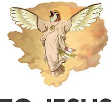 Twitch Plays Pokemon: I Just Squawked To Jesus - Sticker by Twitch Plays Pokemon