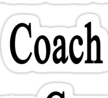 My Dad Loves To Coach Cross Country Sticker