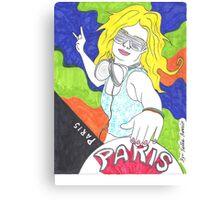 ☜☆☞ DJ Paris Hilton ☜☆☞  Canvas Print