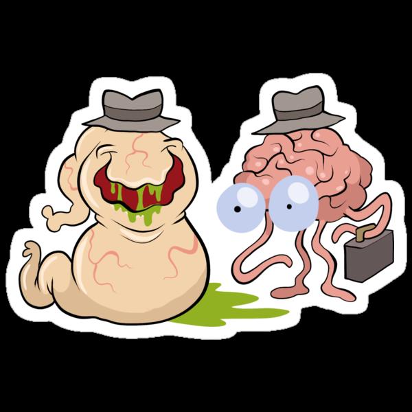 Brains and Guts by bogleech