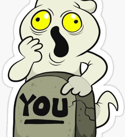 Your Ghost Sticker