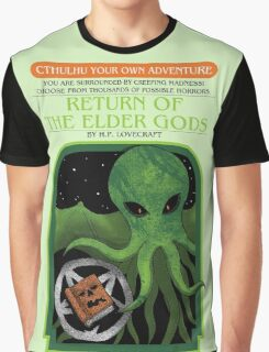 Cthulhu Your Own Adventure Graphic T-Shirt