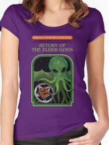 Cthulhu Your Own Adventure Women's Fitted Scoop T-Shirt