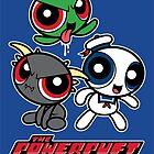 The Powerpuft Ghouls (STICKER) by mikehandyart