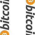 Bitcoin Sticker by Arthur Reeder