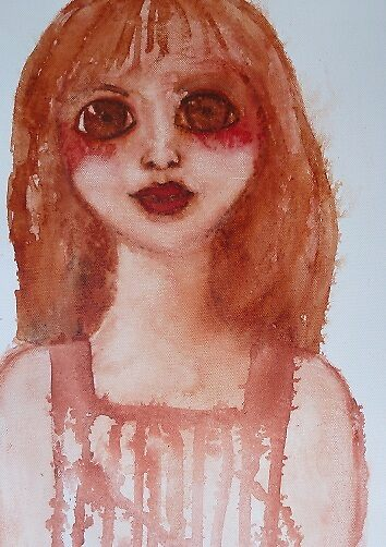 Water colour girl by carypdavies