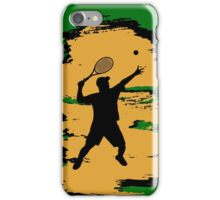 Male Tennis Player iPod / iPhone 5 Case / iPhone 4 Case  iPhone Case/Skin