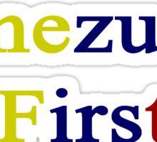 Venezuela First  Sticker