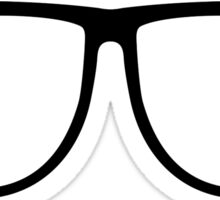 Eye, Hipster Sticker