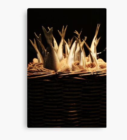 Fish Basket Canvas Print