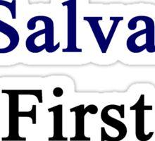 El Salvador First Sticker