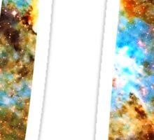 Pi Symbol 3.14 [Heart and Soul Nebula] | Mathematix Sticker