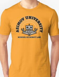 I Majored in Robot Law Unisex T-Shirt
