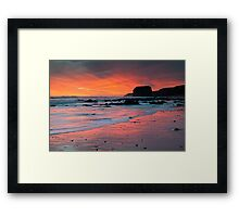 Sunrise At Marsden Framed Print