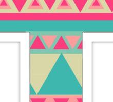 Patterned Cross 3 *NEW* Sticker