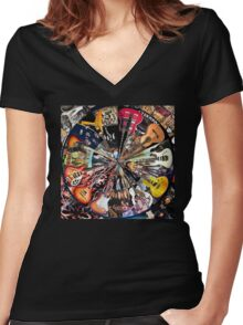 Inspirations  Women's Fitted V-Neck T-Shirt