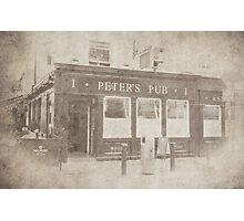 Peter's Pub, Dublin Photographic Print