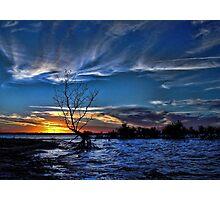 Sundown Glow Photographic Print