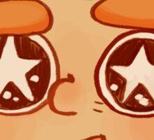 Starry Eyed Sticker