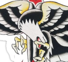 Wings & Dagger Sticker