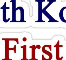 South Korea First  Sticker