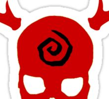 True Detective - Carcosa Gas Mask - Red Sticker